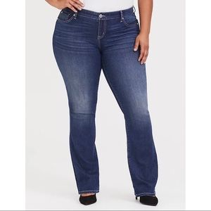 Torrid Slim Boot Cut Jeans NEW